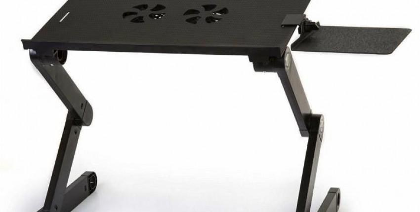 Удобный портативный регулируемый ноутбук стол для компьютера - отзыв покупателя