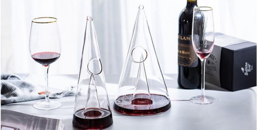 Стильный графин для вина с Алиэкспресс - отзыв покупателя