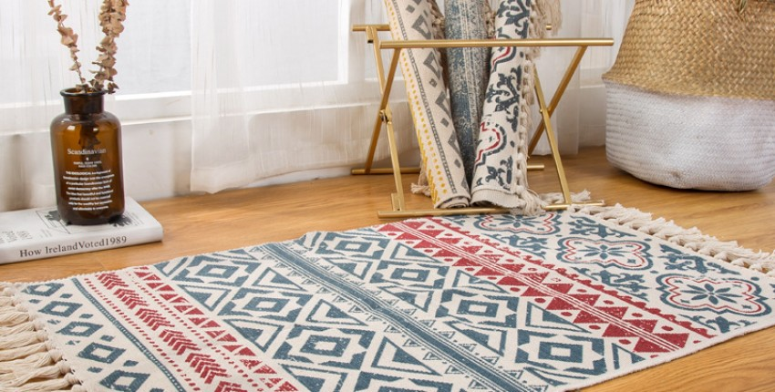 Ретро коврик для гостиной