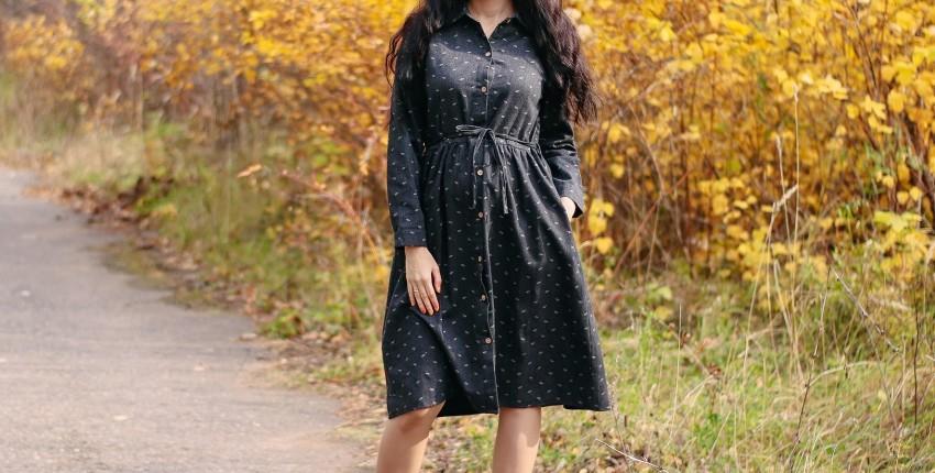 Теплое платье Alyaboomty - отзыв покупателя