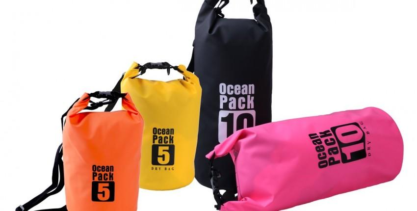 Водонепроницаемая сумка ocean pack всего за 250 рублей - отзыв покупателя