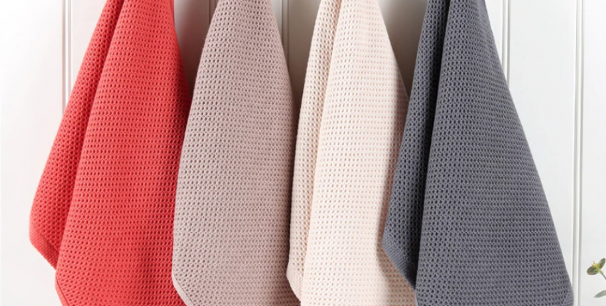 Вафельное полотенце для рук и лица всего за 20 рублей - отзыв покупателя