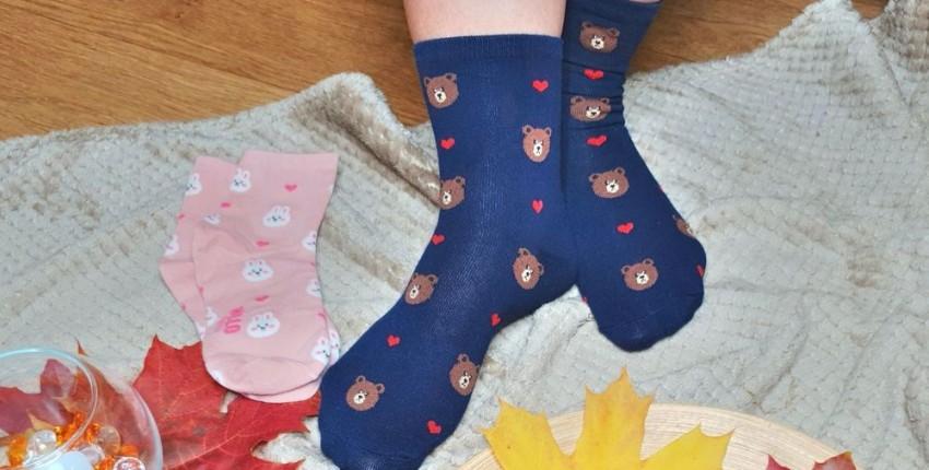 Забавные мягкие, эластичные и очень удобные носки - отзыв покупателя