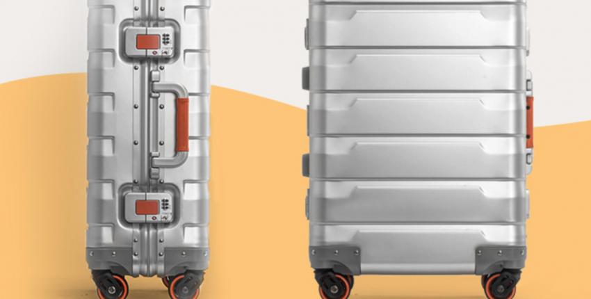 Алюминиевый чемодан в два раза дешевле, чем в магазинах