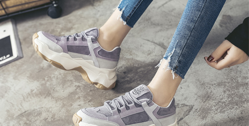 Модные кроссовки с Алиэкспресс - отзыв покупателя