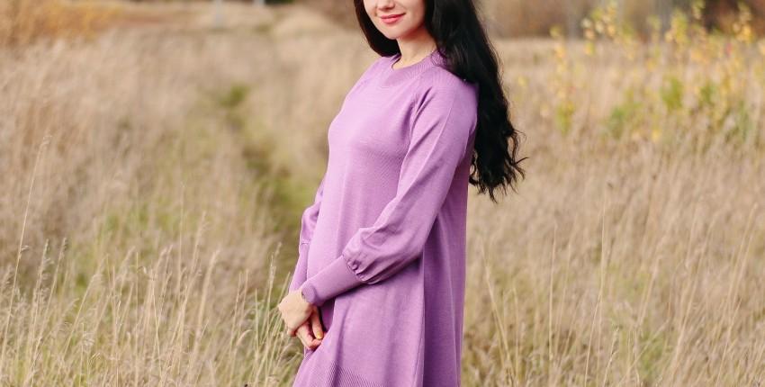 Трикотажное платье-трапеция SMTHMA - отзыв покупателя