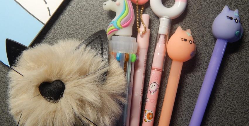 Канцелярия. Ручки и карандаши простые