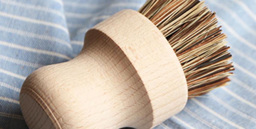 Деревянная щетка для посуды с Алиэкспресс - отзыв покупателя