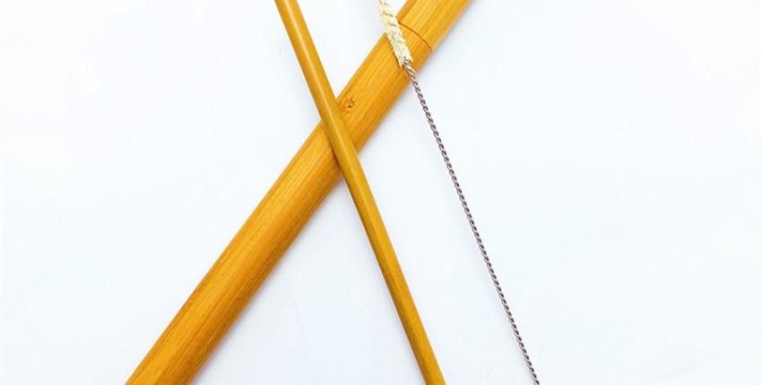 Бамбуковая трубочка за 73 рубля - отзыв покупателя