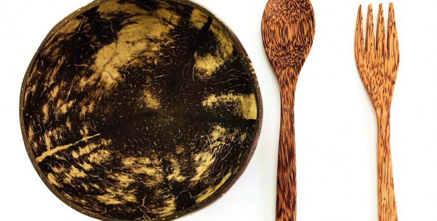 Миска из настоящего кокоса с Алиэкспресс - отзыв покупателя