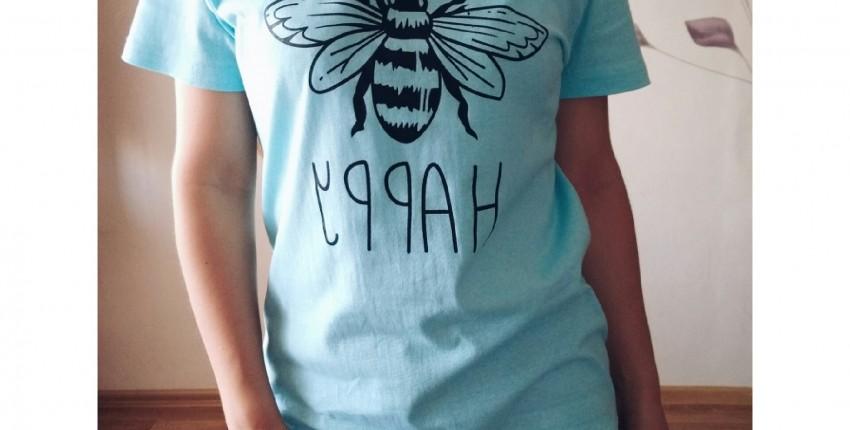 качественная футболка с интересным принтом - отзыв покупателя