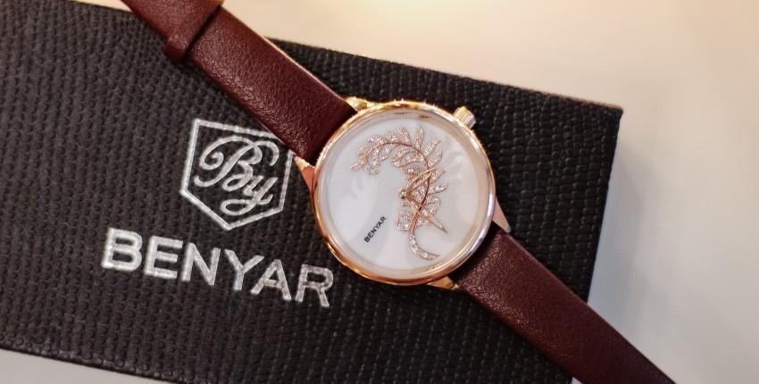 Стильные женские часы BENYAR 5157L