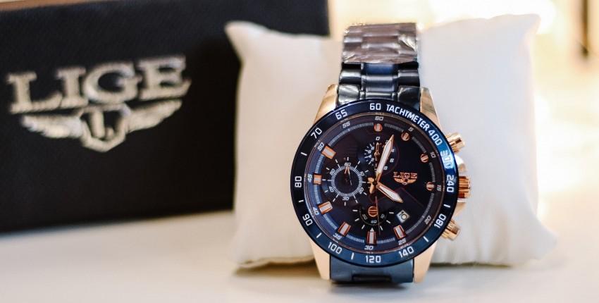 Мужские часы с крутым дизайном LIGE - отзыв покупателя