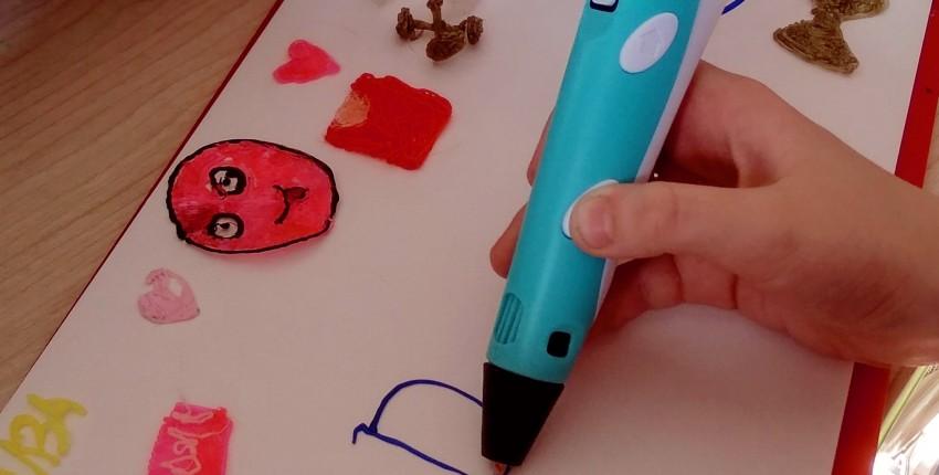Увлекательное творчество при помощи 3-D ручки - отзыв покупателя