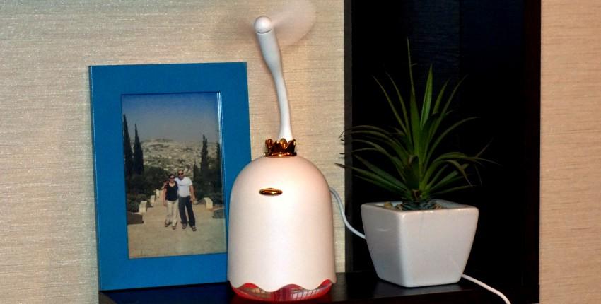 Многофункциональный увлажнитель воздуха и отличные подарки от продавца. - отзыв покупателя