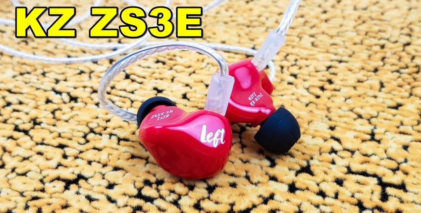 Наушники KZ ZS3Е:  суперхит за 9 баксов - отзыв покупателя