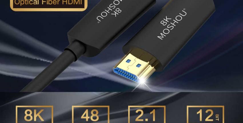 Волоконно-оптический HDMI 2,1 кабель Ultra-HD UHD 8K - отзыв покупателя