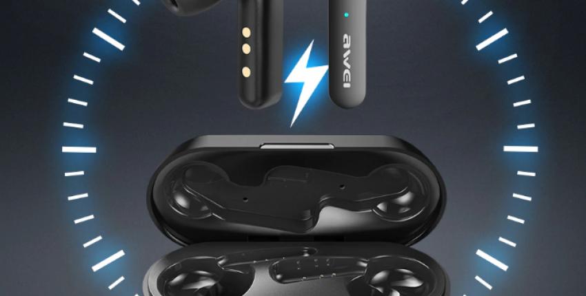 Awei T10C TWS V5.0 сенсорное управление мини беспроводные Bluetooth наушники HD стерео зву