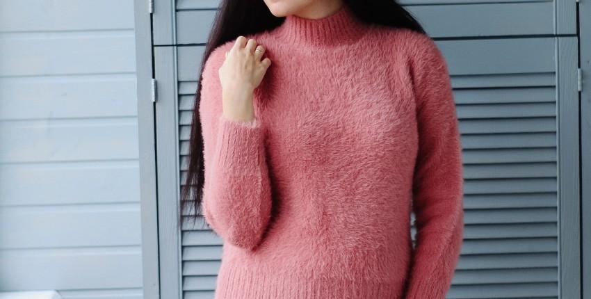 Пушистый свитерок KarSaNy - отзыв покупателя