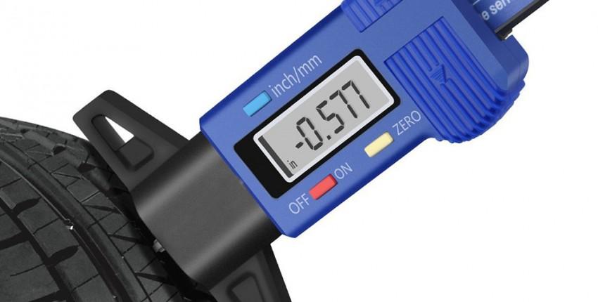 Цифровой измеритель глубины протектора в шинах - отзыв покупателя