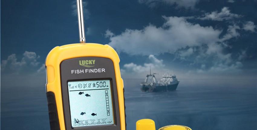 FFW1108-1 беспроводной ЭХОЛОТ. Для подводной рыбалки.