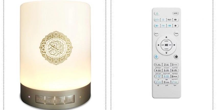 Беспроводной Bluetooth Динамик, радио, переводы текста. Светодиодный Коран светильник. - отзыв покупателя