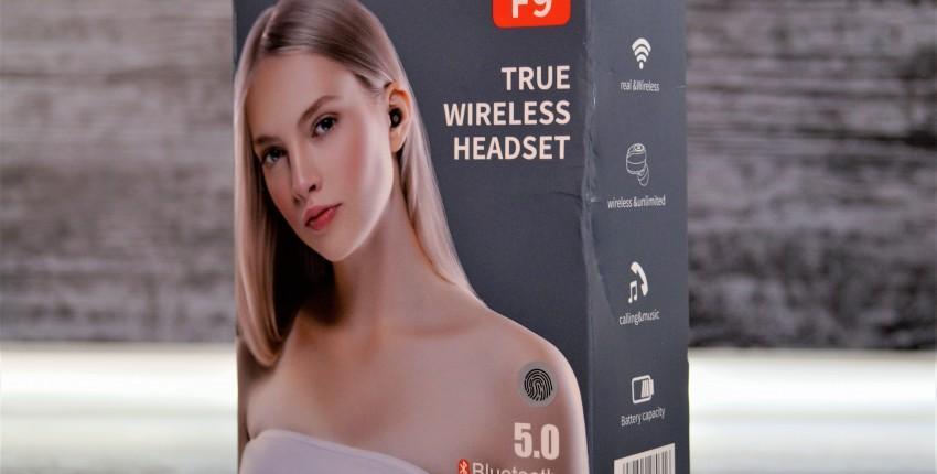 F9 Беспроводные Bluetooth V5.0 наушники