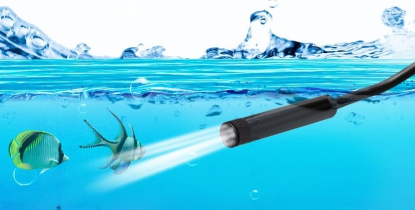 KERUI wifi водонепроницаемый эндоскоп. Мини камера