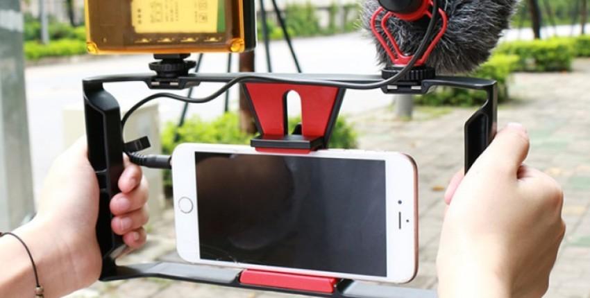 Стабилизатор держатель для видеосъемки с телефона. - отзыв покупателя