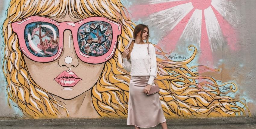 Атласная юбка в обалденном цвете - отзыв покупателя