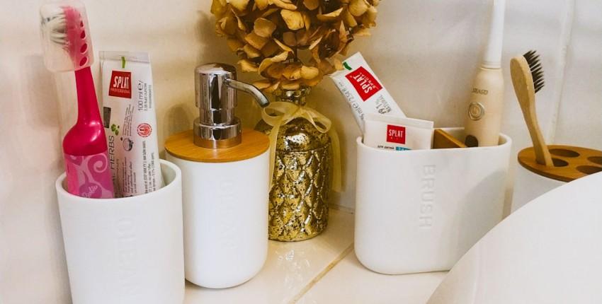 Покупки для дома: набор аксессуаров для ванной комнаты с Алиэкспресс