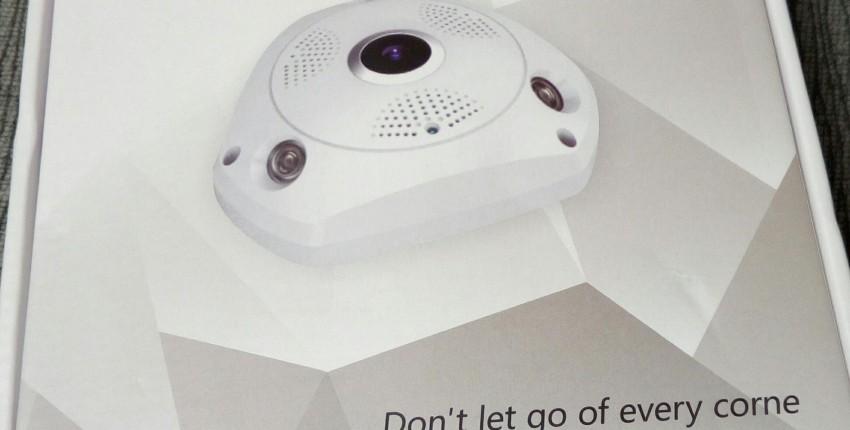 Панорамная WiFi IP камера 360 градусов - отзыв покупателя
