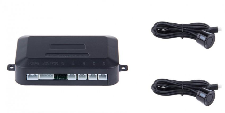Автомобильный парктроник светодиодный датчик парковки с 4 датчиками