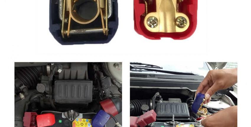 Универсальные быстросъемные клеммы для аккумуляторов 1 пара 12 В - отзыв покупателя