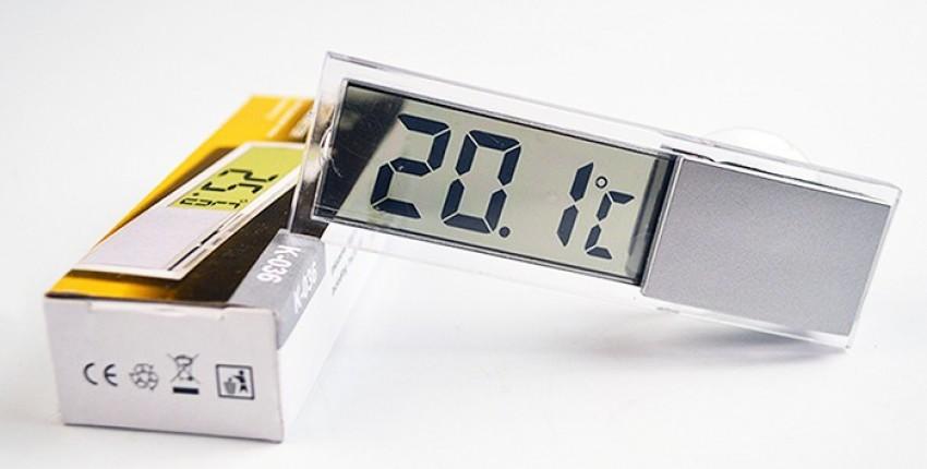 Цифровой автомобильный термометр TEHOTECH - отзыв покупателя