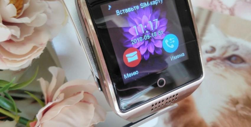 Сегодня обзор на смарт-часы MOCRUX Q18, которые поддерживают сим-карты всех операторов. - отзыв покупателя