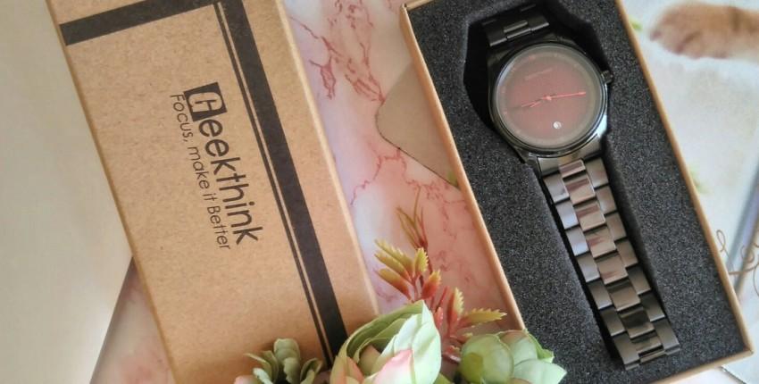 Мужские часы Geekthink с ярким циферблатом. - отзыв покупателя
