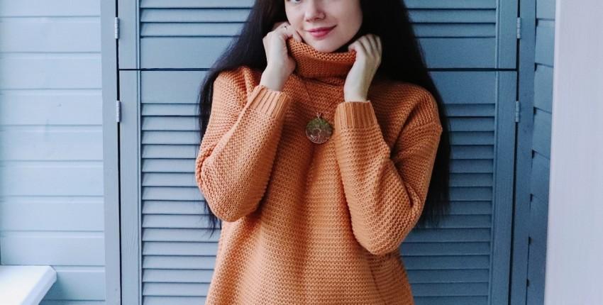 Вязаный свитер GOPLUS