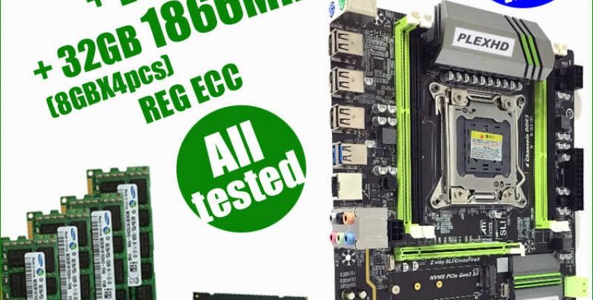 Комплект материнской платы Plex HD Х79 и процессора XEON E5 1650v2. - отзыв покупателя