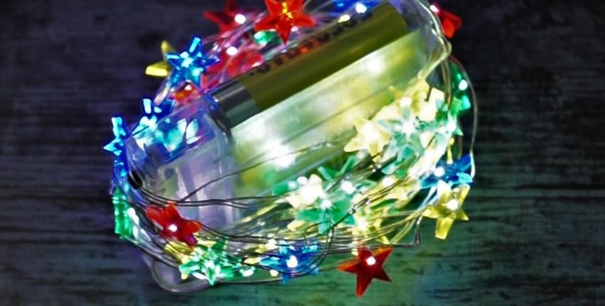 Светодиодные огни для декора - отзыв покупателя