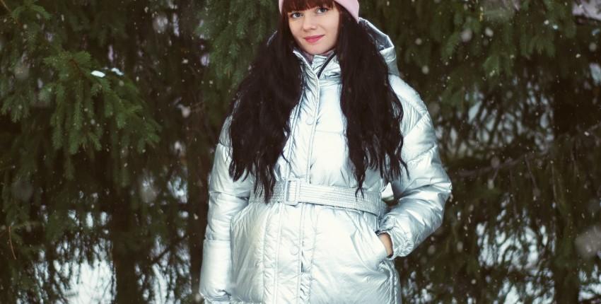 Теплая курточка-металлик Xiaoxiao - отзыв покупателя