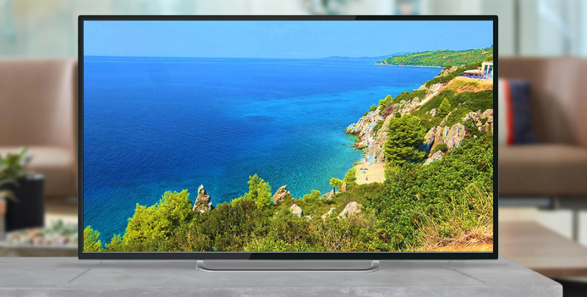 Телевизор Polarline 50PU11TC-SM 4К SmartTV черный