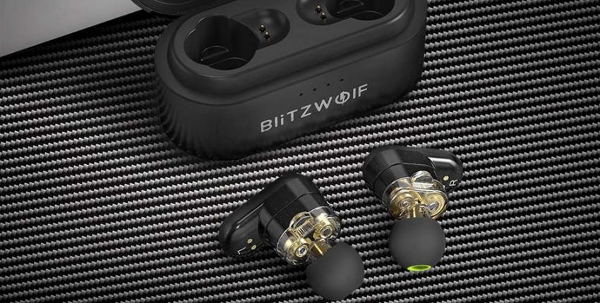 Blitzwolf BW FYE7 TWS Bluetooth 5.0 беспроводные наушники