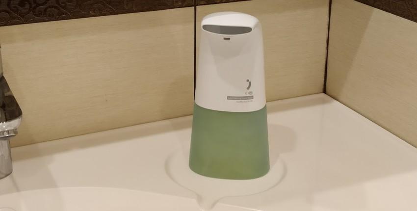 Xiaomi minij дозатор для мыла сенсорный. - отзыв покупателя