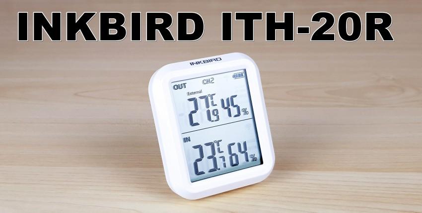 Inkbird ITH-20R: цифровой термометр и гигрометр с выносными датчиками - отзыв покупателя