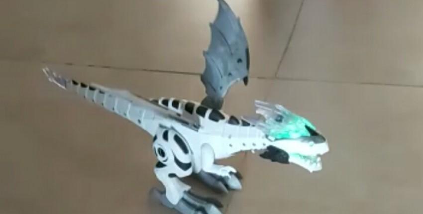 Роботизированный динозавр. - отзыв покупателя