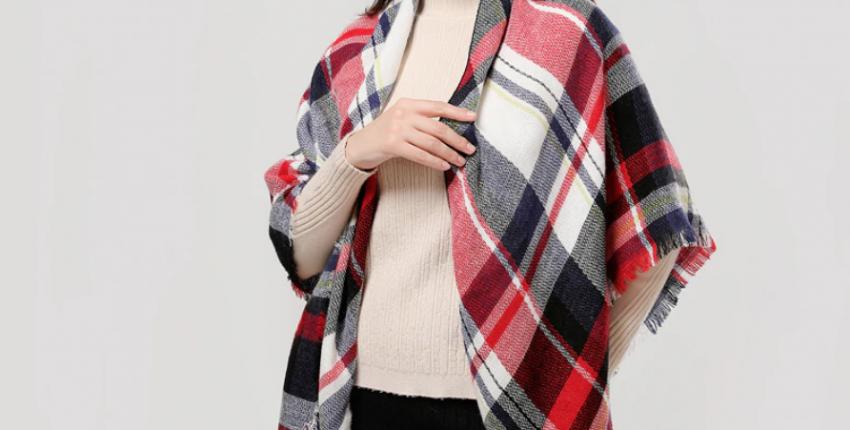 Красивые шарфы и палантины от 140 рублей с Алиэкспресс - отзыв покупателя