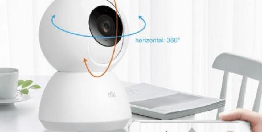 Хорошая вебкамера для видеонаблюдения от Xiaomi
