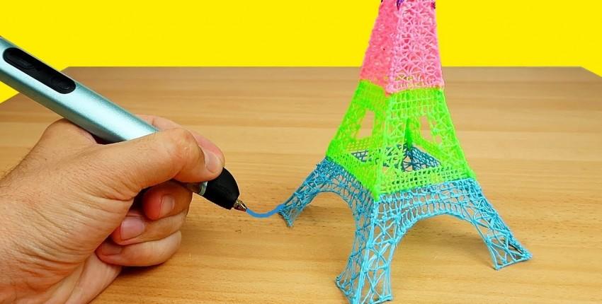 Отличный подарок для детей и взрослых: 3D-ручка - отзыв покупателя