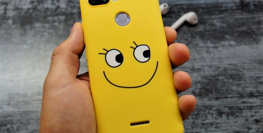 Веселый Силиконовый чехол на Xiaomi Redmi 6 - отзыв покупателя